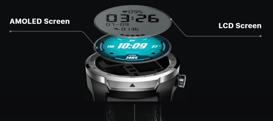 The TicWatch Pro has an AMOLED display with an LCD overlay - Mobvoi video teaser tips a July 10th unveiling of the TicWatch Pro LTE