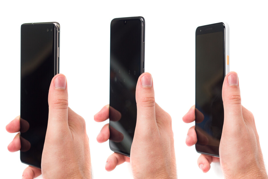 Position similar to the one in the middle is the way to go! - Why do phone makers let these design mistakes happen?