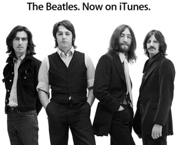 Yeah! Yeah! Yeah! The Beatles are now on iTunes