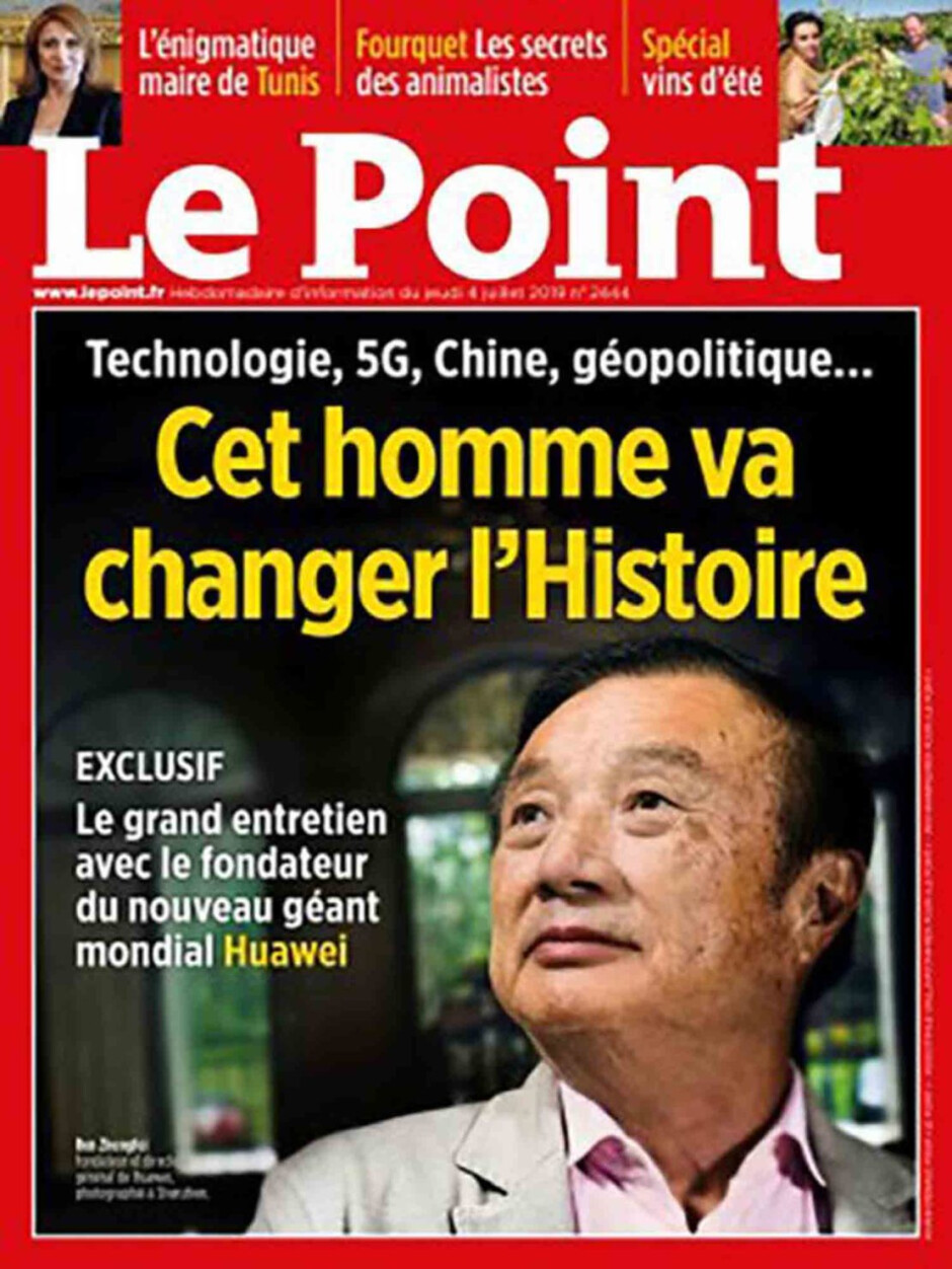"""Huawei founder Ren Zhengfei was interviewed for a French magazine - HongMengOS is """"likely"""" faster than Android and iOS says Huawei founder and CEO"""