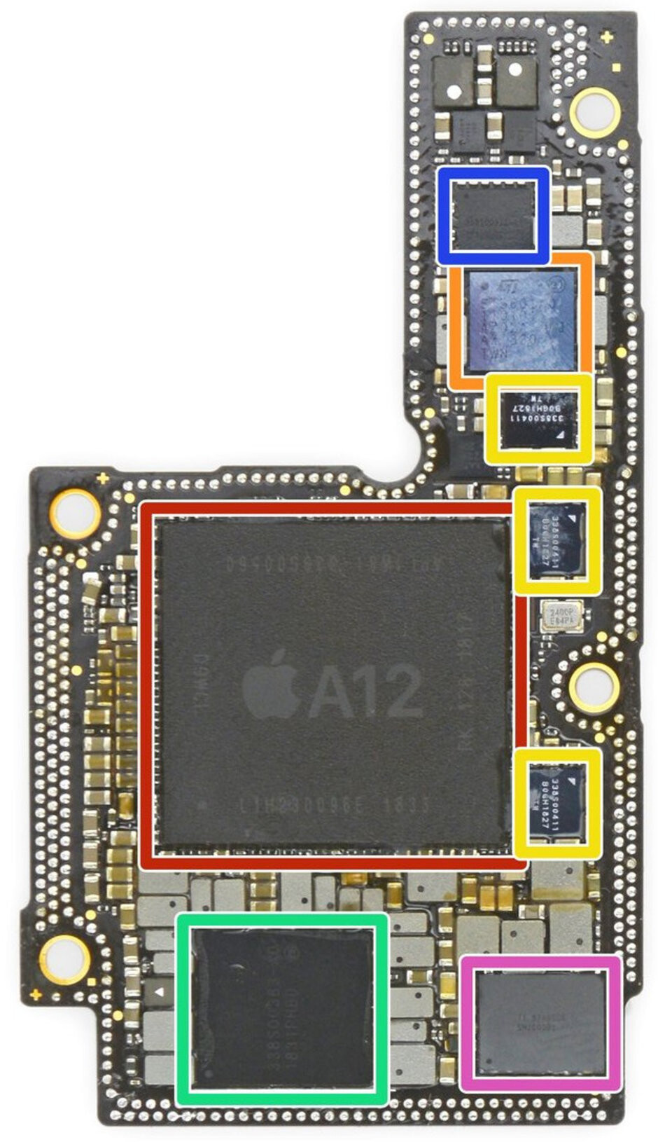 iFixit reveals the L-shaped iPhones XS motherboard - Repair shop leaks the 2019 iPhone logic board, hinting at big changes under the hood