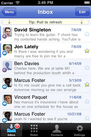 Google Voice for Apple's iPhone - Official Google Voice app makes it to the iPhone