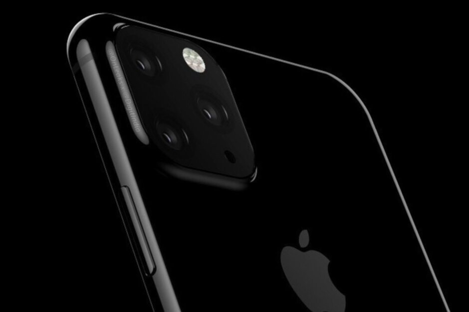 Renders of the Apple iPhone 11 show a square camera module on the back of the phones - Analyst forecasts disappointing sales for the Apple iPhone 11 series