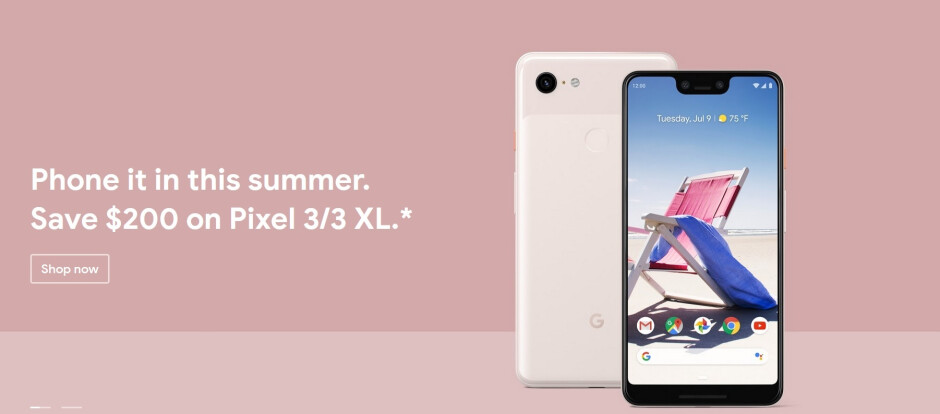 Save $200 on the Pixel 3 and Pixel 3 XL at the Google Store - Google once again takes $200 off the Pixel 3 and Pixel 3 XL