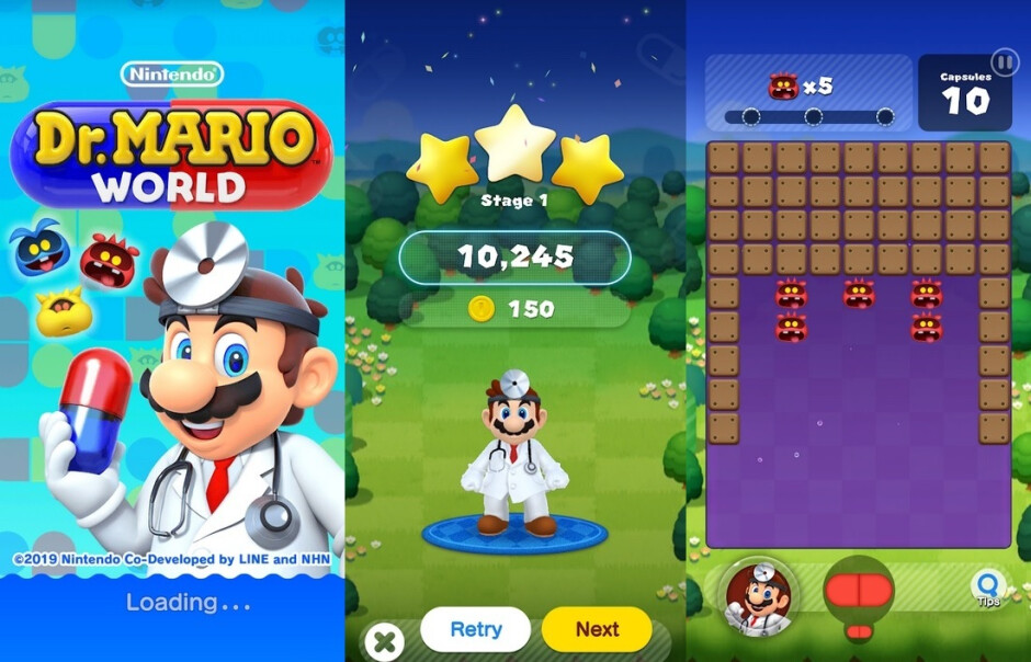 Dr. Mario World can now be installed on your iPhone or Android device - Dr. Mario World arrives a day early for iOS and Android; Google has sales on games, movies and TV shows
