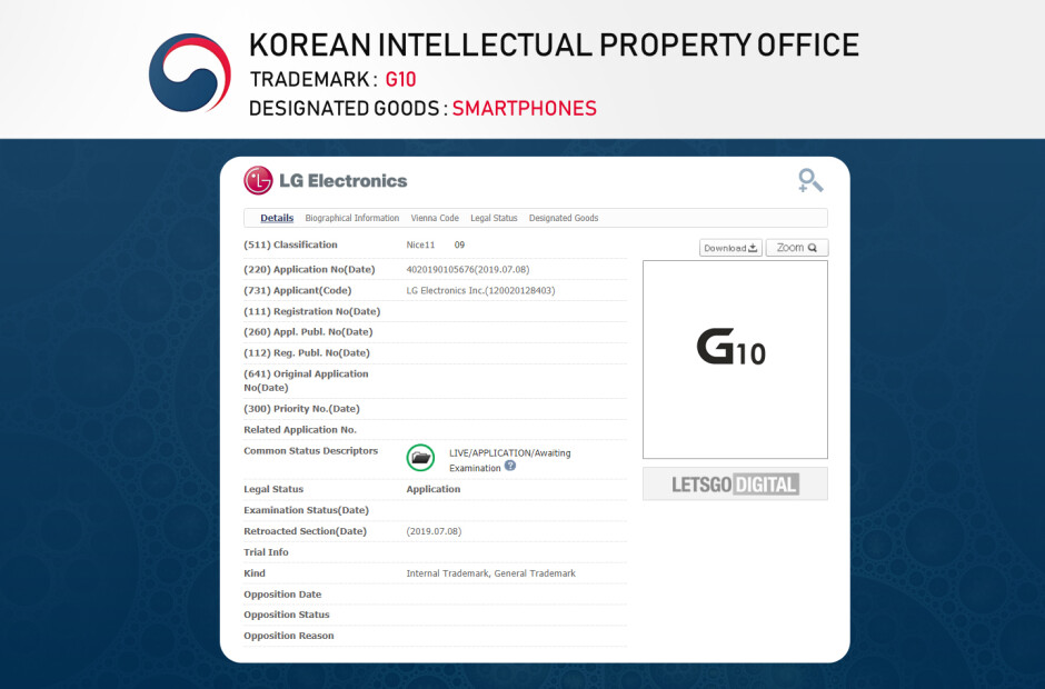 The LG G10 is about two years away, what unusual tech will the company come up by then? - LG trademarks show the company has a new flagship naming scheme in store