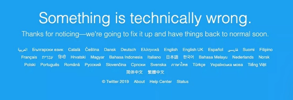 Twitter members went a little over an hour with no service - Trump's worst nightmare is over; Twitter is back up after one hour outage