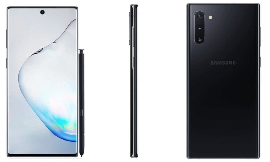 The Galaxy Note 10 doesn't look half bad in black either - Rumored Galaxy Note 10 and Note 10+ prices are not that bad... when you think about it
