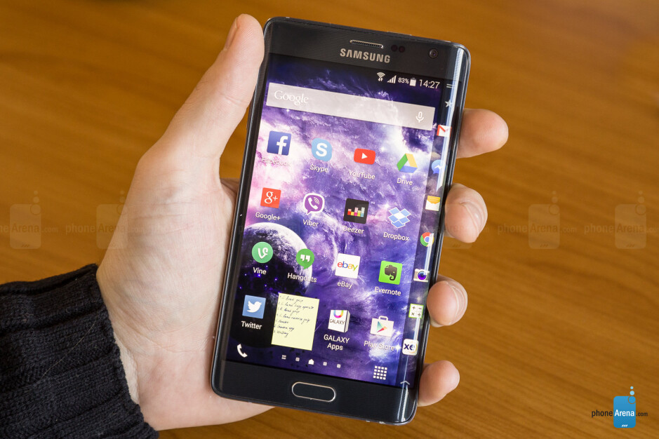 The good old Note Edge. This brings back memories - Rebuttal: No, Samsung should absolutely not ditch the S Pen