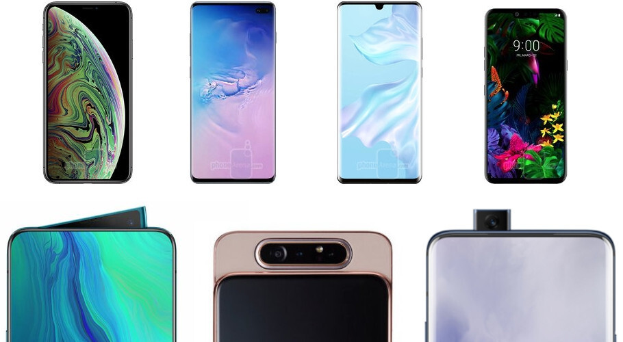 Only one of these designs lets you take all pictures with the best camera on the phone - Notches are silly, 2020 iPhones ironic, and the front camera hiding trend is all wrong