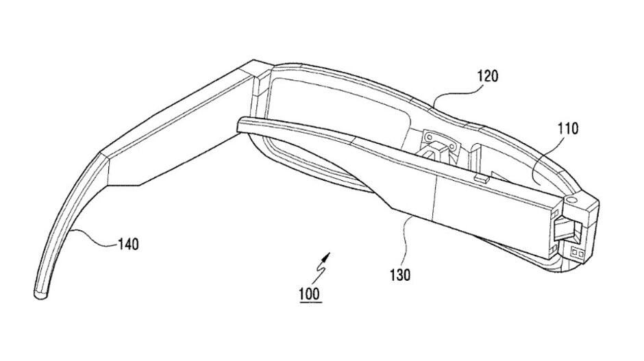 براءة اختراع لنظارة الواقع المعزز من سامسونج
