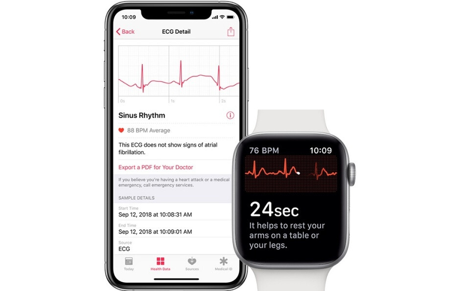 The ECG functionality on the Apple Watch will reportedly remain unrivaled until 2020 - Samsung will release the Galaxy Watch Active 2 soon... with its best feature disabled until 2020