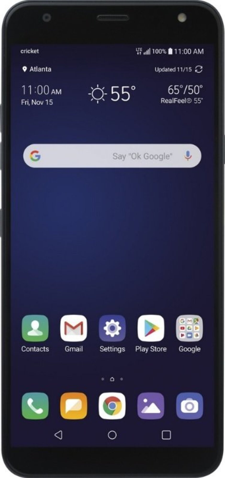 Render of the upcoming LG Harmony 3 - This is the LG Harmony 3 for Cricket Wireless