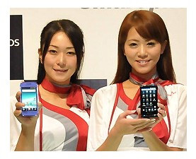 Sharp's pair of glasses-free 3D smartphones are expected to launch in the U.S. early next year