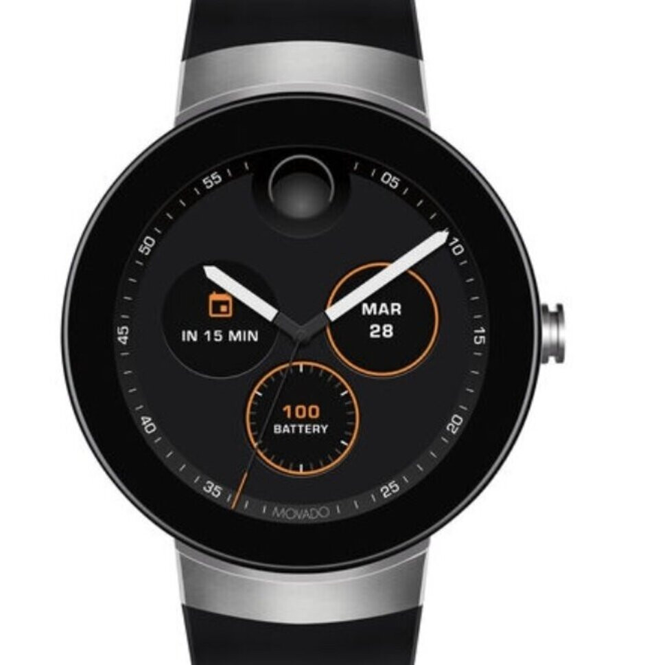The first generation Movado Connect - FCC documents reveal some impressive specs for the Movado Connect 2.0 smartwatch