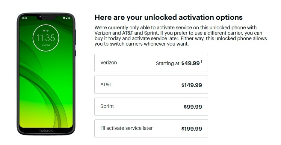 The Motorola Moto G7 Power is as low as $49.99 at Best Buy - Moto G7 Power and its 5000mAh battery on sale for as low as $49.99 at Best Buy