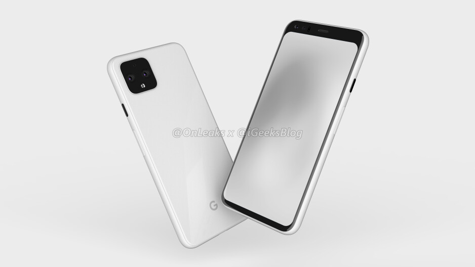 New render of the Google Pixel 4 - Check out the latest Google Pixel 4 renders