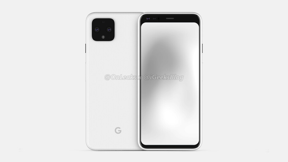 The latest render of the Google Pixel 4 - Check out the latest Google Pixel 4 renders