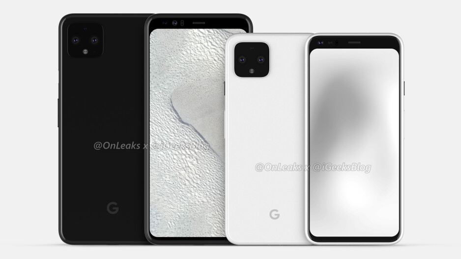 The Pixel 4 XL and Pixel 4 - Check out the latest Google Pixel 4 renders