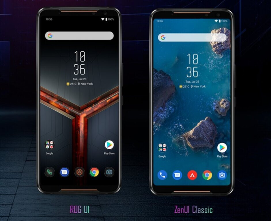 """ROG Phone 2 will have a switch to """"tone it down"""" with the gamer UI"""