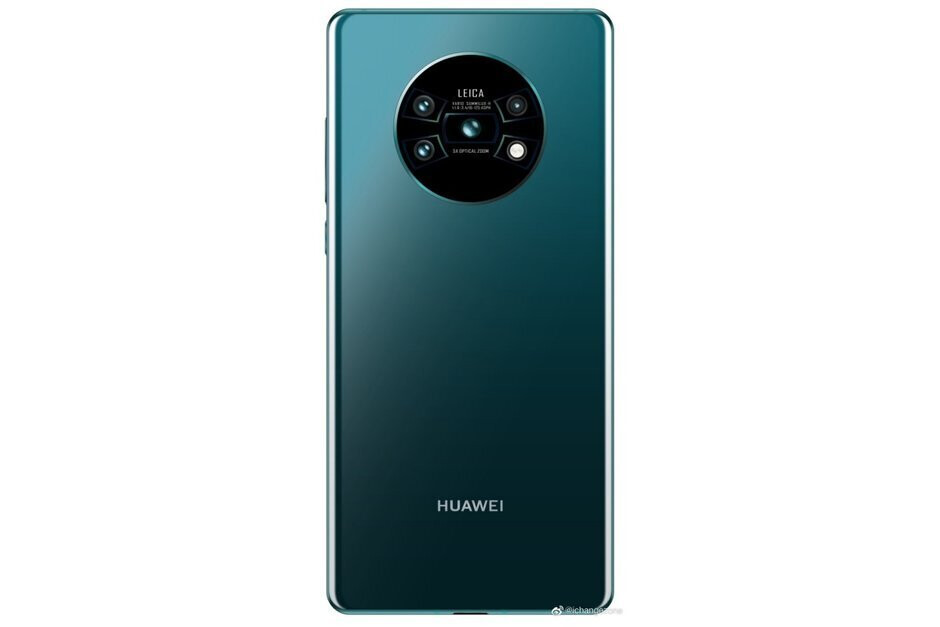 Huawei Mate 30 Pro concept render - The Huawei Mate 30 Pro has been spotted in public for the first time