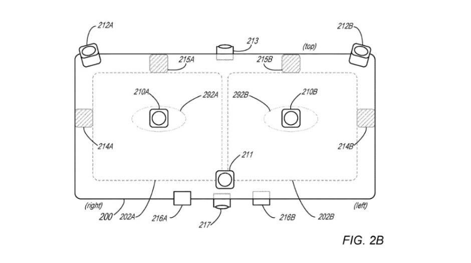 Illustration from Apple's patent application related to a mixed reality headset - Patent application reveals how you will use Apple's next big thing