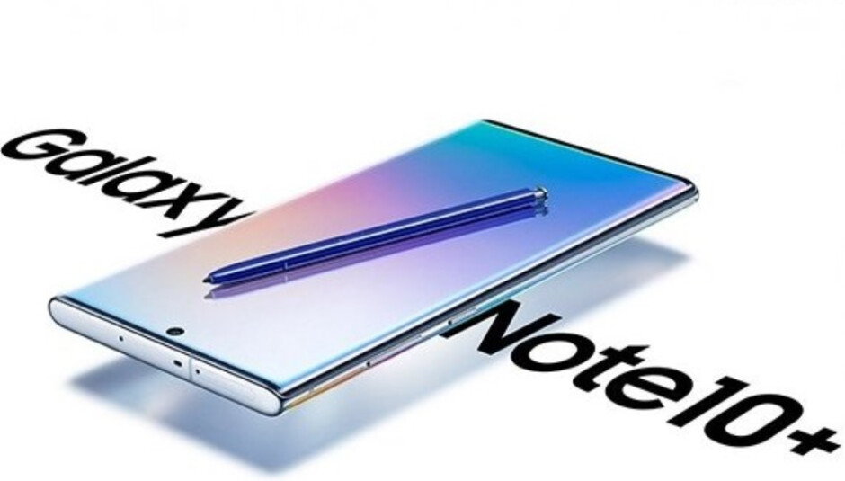 The Samsung Galaxy Note 10+ will be unveiled on August 7th - Samsung Galaxy Note 10+ screen tipped to set a new record