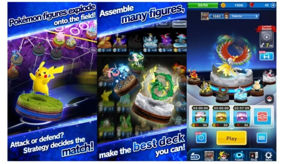 Pokemon Duel will shut down on October 31st - Pokemon game with tens of millions of installs will be shutting down on October 31st