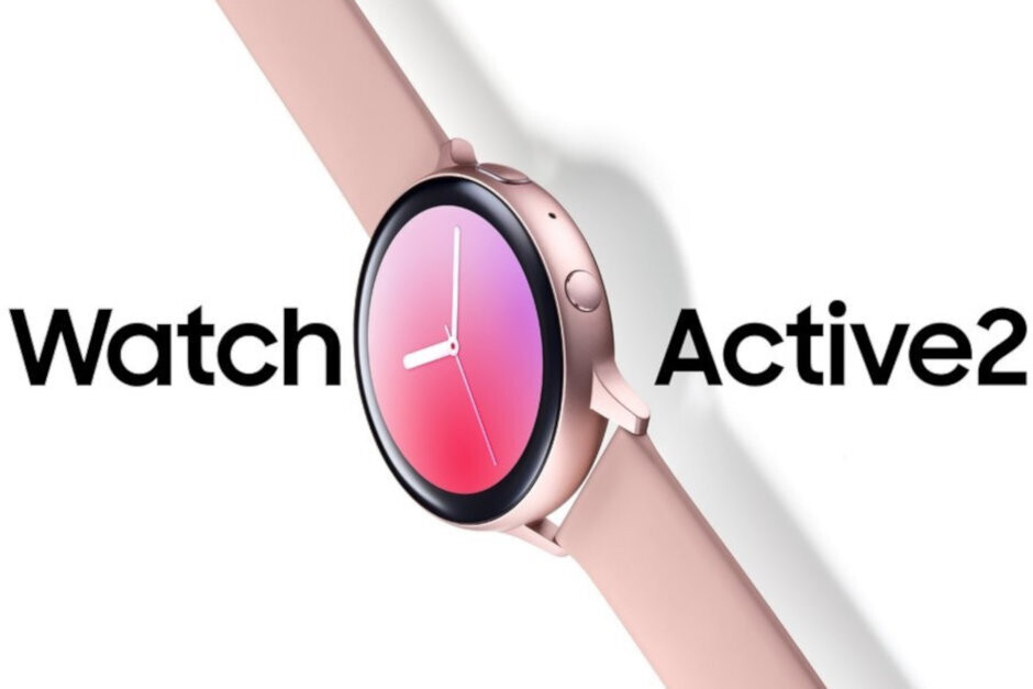 Leaked render of the Samsung Galaxy Watch Active 2 - The feds help leak new info about Samsung's upcoming smartwatch