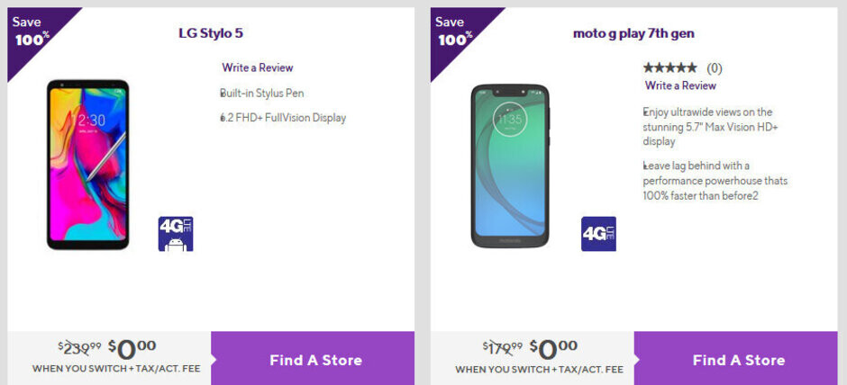 LG Stylo 5 and Moto G7 Play arrive at Metro by T-Mobile, prices start at $0