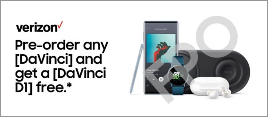 Proof of Verizon's Samsung Galaxy Note 10 promotion - Pre-order deals leaked for the Samsung Galaxy Note 10