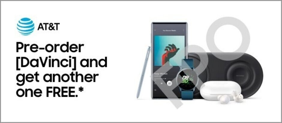 Proof of AT&T's Samsung Galaxy Note 10 promotion - Pre-order deals leaked for the Samsung Galaxy Note 10