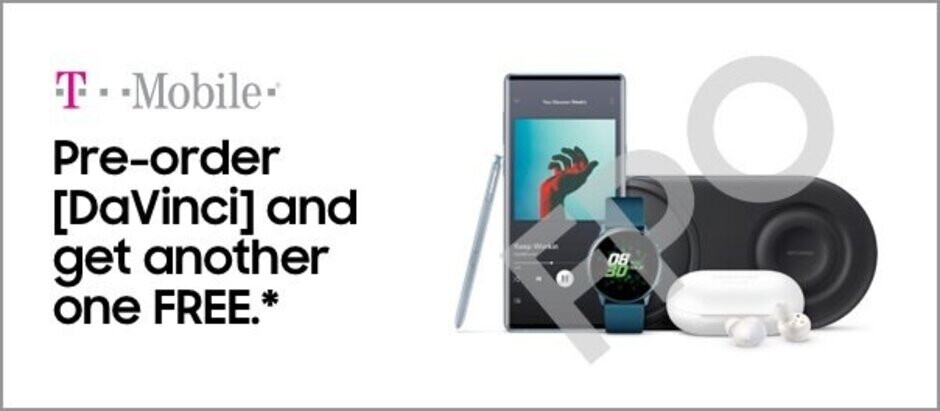 Proof of T-Mobile's Samsung Galaxy Note 10 promotion - Pre-order deals leaked for the Samsung Galaxy Note 10