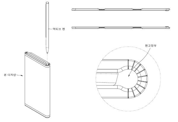 Anything you can fold, I can fold better: LG patents dual-folding phone with pen