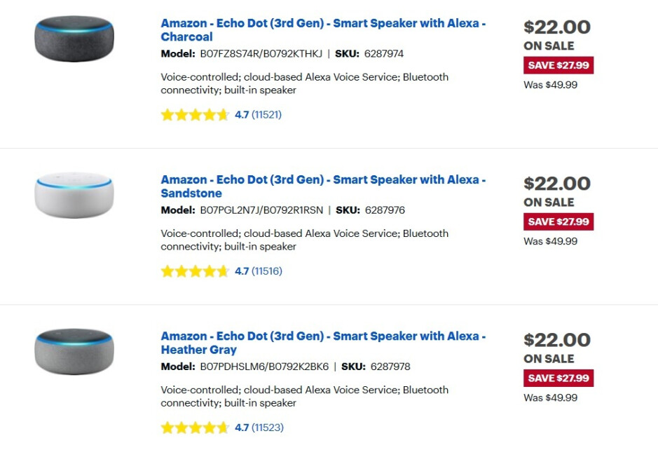 Best Buy is offering a $5 smart plug to those buying select discounted Echo units - Pick up an Echo Spot smart display for $90 (31% off); Echo and smart plug bundles start at $27