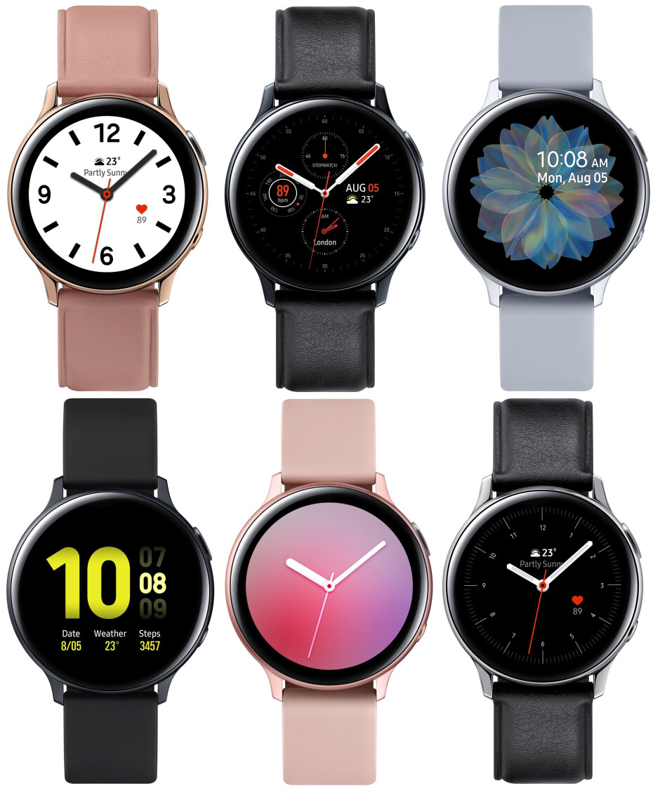 Even more pictures show the Samsung Galaxy Watch Active 2 in all its glory