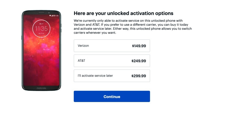 Best Buy has the Moto Z3 Play on sale for an amazing $150 (with Verizon activation)