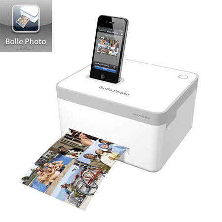 Bolle BP-10 brings docked iPhone photo printing, but AirPrint is on its way