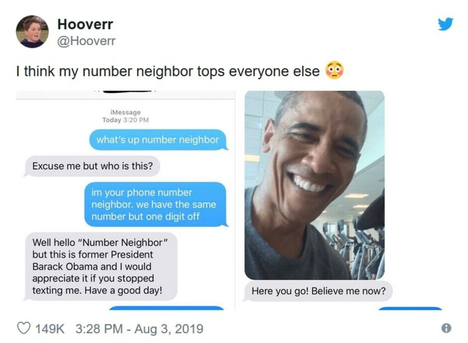 """We call bs on this exchange - Latest smartphone craze: texting your """"number neighbors"""""""