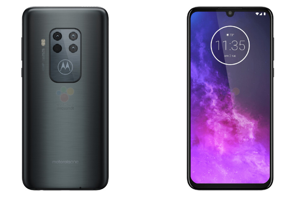 Leaked Motorola One Zoom press renders - Motorola One Zoom camera details, specs, and alleged pricing emerge