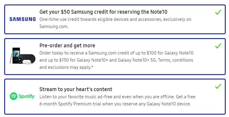 Best Note 10+ carrier deals and preorder gifts at Verizon, T-Mobile, AT&T and Best Buy