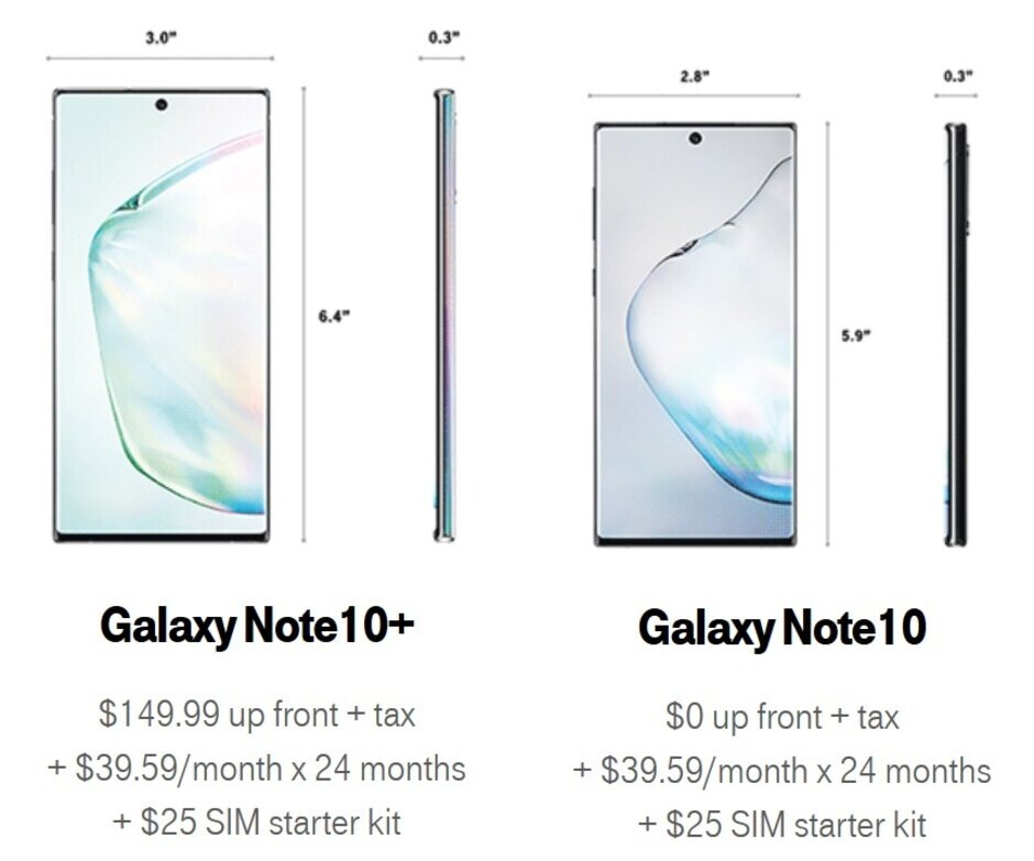 Pre-orders for the Samsung Galaxy Note 10 and Galaxy Note 10+ start tonight at T-Mobile - Pre-order the Samsung Galaxy Note 10/Note 10+ from T-Mobile and save up to $300 with select trade-in