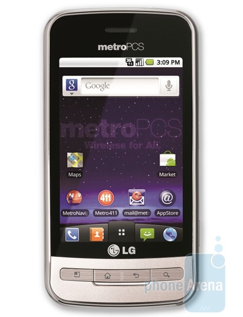 The LG Optimus M is the first Android device for MetroPCS - LG Optimus M is the first Android phone for MetroPCS