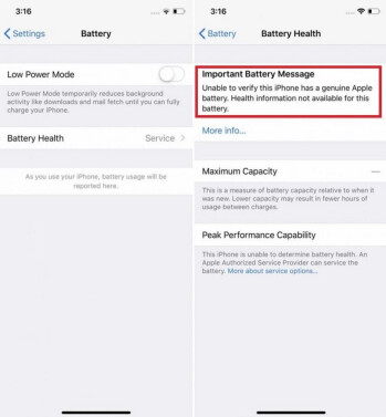 Apple blocks iPhone feature if you go elsewhere to replace the