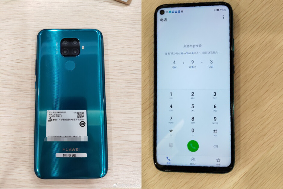 The Mate 30 Lite could be Huawei's first phone with Harmony OS