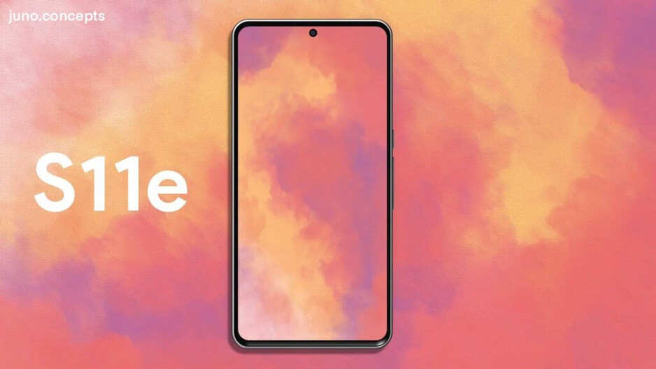 Galaxy S11e with Premium Hole Display design by Juno Concepts - The Galaxy S11 design? Look no further than Note 10's Premium Hole Display