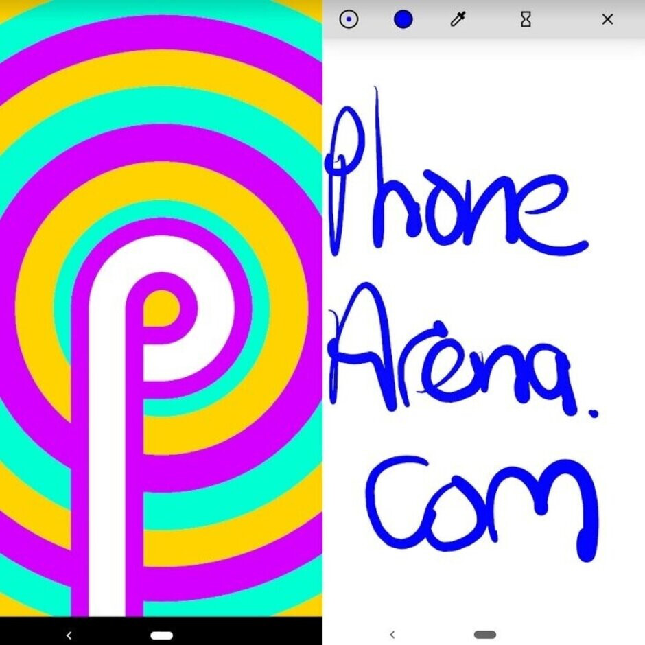 Easter Egg on Android 9 Pie turns into a drawing app - The Android Q Easter Egg has been found by Essential Phone users