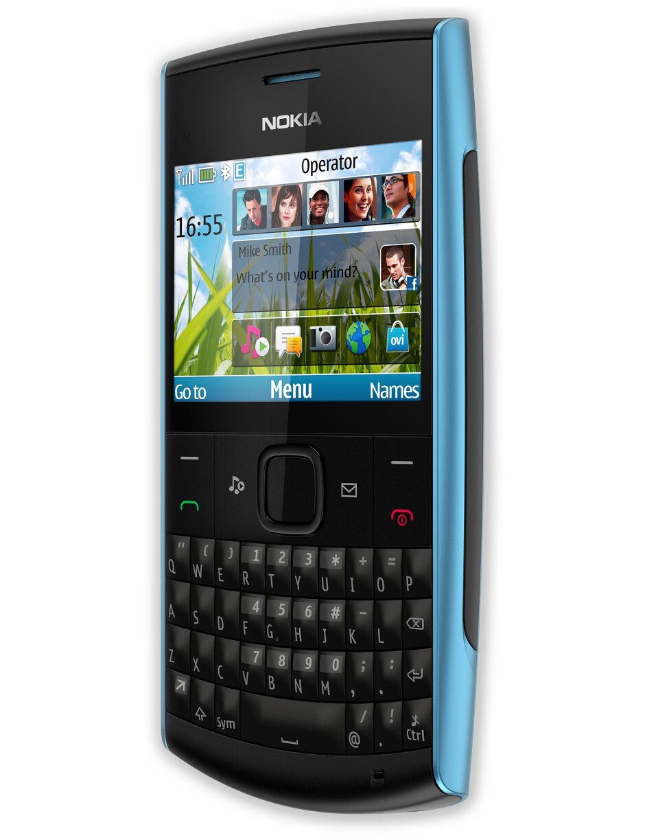 Nokia X2-01 - Nokia X2-01 and C2-01 are the newest low-end Series 40 feature phones