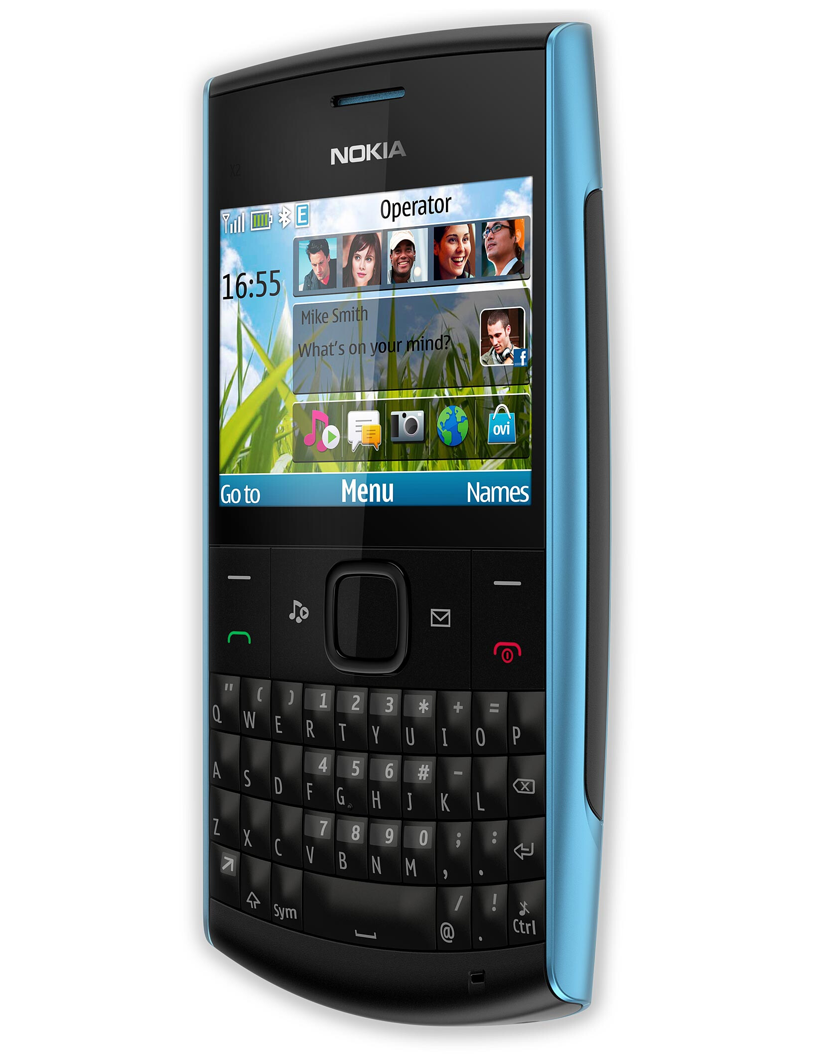 Nokia X2-01 and C2-01 are the newest low-end Series 40