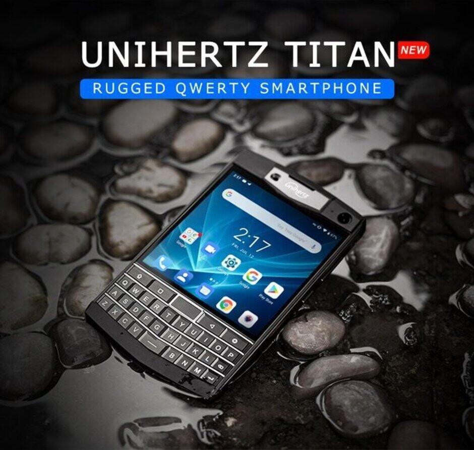 Those who hoped for an Android-powered Passport would appreciate the Unihertz Titan - Unihertz Titan raises over $600K on Kickstarter, will ship in December